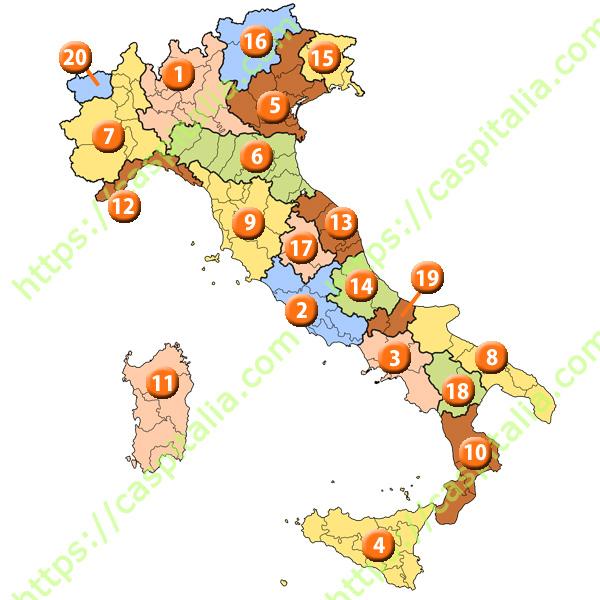 イタリアの州